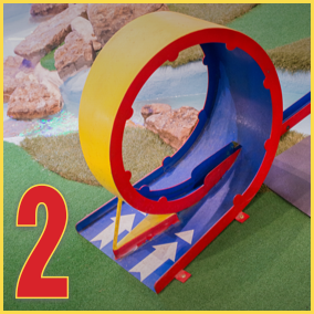 Hole 2: Loopty Loop Madness